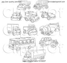100 Free Cars And Trucks Clipart Of Black And White Toy And Royalty Vector