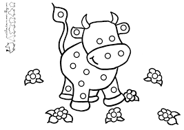 Coloriage Vache à Imprimer Coloriagesenfants