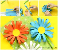 Construction Paper Crafts For Kids Flower Simple Craft Artemis Fowl Movie
