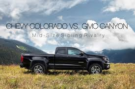 GMC Canyon Vs. Chevy Colorado: Mid-Size Sibling Rivalry 2019 Chevy Silverado And 1500 27t Fourcylinder The New Small 2015 Chevrolet 2500hd Duramax Vortec Gas Vs 7 Differences Between The Gmc Sierra Pressroom United States 2014 V6 Delivers 24 Mpg Highway 2016 Equinox Terrain Mccluskey 2019gmcchevysilverado1500rearlights Fast Lane Truck Commercial Trucks For Sale Sedalia Mo Gm To Offer Clng Engine Option On Hd Trucks Vans Top Ways Its Different From Prices Elevation Introduces Midnight High Life Red Lifted Denali Car Pinterest