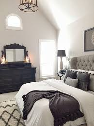 23 Decorating Tricks For Your Bedroom Black Master BedroomGray