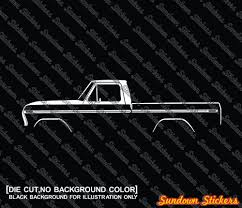 2X Car Silhouette Stickers -for Ford F100 /F150 (1973-1979) Classic ... Vintage 50th Anniversary 1949 Tonka Dump Truck Pressed Steel 1996 Sideboard 28 Remarkable Second Hand Sideboards Ebay Photo Ideas Used Chevy Cars And Trucks To Buy Burlington Chevrolet Classic Usa Awesome Green Driving 1969 Mini Cooper Bangshiftcom 1978 Gremlin Gt For Sale On Ebay Is In Incredible Itt I Post Lowridecarstrucks Girls Archive Page 30 Heres Your Chance Own Donald Trumps Lamborghini Diablo Motor 1938 Buick Other Tan Pinterest Car 2009 Nissan Gtr Premium Coupe 2door Motors Vehicle Scams Google Wallet Amazon Payments Ebillme 2x Car Silhouette Stickers Ford F100 F150 31979 Classic