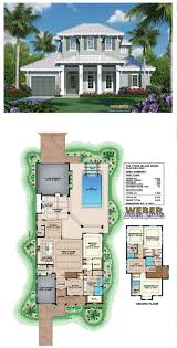 100 Three Story Beach House Plans 2 Lake View Awesome Plan Caribbean