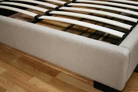 baxton studio favela beige linen upholstered queen size platform bed