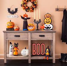 Halloween Fireplace Mantel Scarf by Halloween Decor Home Perfect Homemade Outdoor Halloween