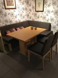 mein ausstellungsstück eckbankgruppe eckbank tisch 2 stühle