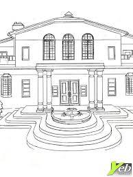 coloriage la maison de rêve dans la catégorie adolescent yeb