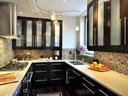 Kitchen Apartment Size Remodel Galley Ideas Small Designs Photos Therapy Studio Design Pictures With Black Cabinets Pantry Craft Room