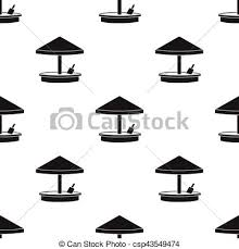 Sandbox Icon In Black Style Isolated On White Background Play Garden Pattern Stock Vector
