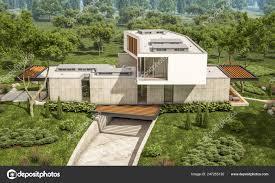 100 Summer Hill Garage Rendering Modern Cozy House Pool Sale Rent