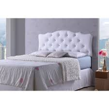 Leggett And Platt Upholstered Headboards by Baxton Studio Rita Modern And Contemporary Full Size White Faux