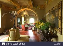 Interior Of Tuscan Villa