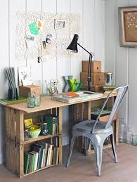 bureau recup 10 idées de projets diy avec des caisses de bois cagette récup