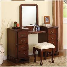 Bathroom Vanity With Built In Makeup Area by Bedrooms Makeup Table Ideas Lighted Vanity Table Cheap Makeup