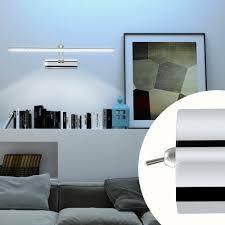 wandleuchten 530x160 mm led chrom wohnzimmer wand büro le