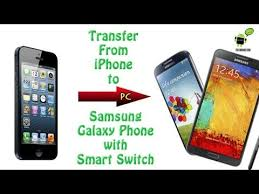 Transferring from iPhone to Samsung Galaxy Phone w Smart Switch