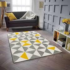 teppich corbett in schwarz grau gelb norden home teppichgröße rechteckig 80 x 150 cm