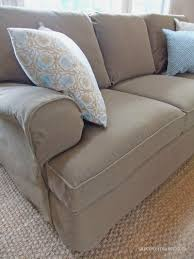 Cindy Crawford Denim Sofa Cover by White Denim Slipcover Couches Tehranmix Decoration