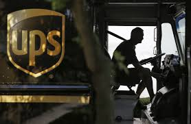For UPS, E-Commerce Brings Big Business And Big Problems - WSJ