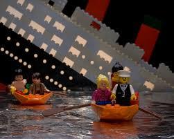 titanic lego scene pinteres