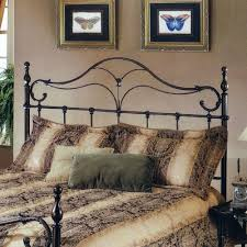Wrought Iron King Headboard by Endearing Metal King Headboard King Metal Bed Frame With Modern
