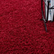 paket teppich hochflor teppich shaggy teppich einfarbig wohnzimmer teppich
