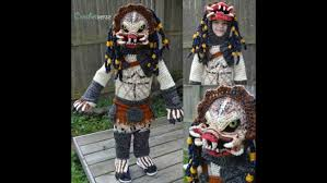 Mom Crochets Incredible 'Predator' Halloween Costume For Her 6-year ...