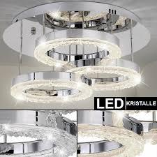 led design glas kristall hängeleuchte deckenleuchte