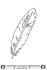 Wonderful Feather Coloring Page 37 Coloring Books with Feather