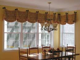 Rustic Valances Dining