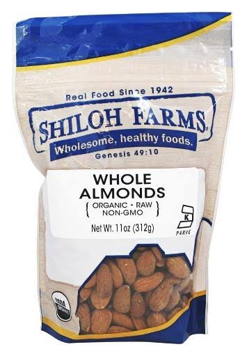 Shiloh Farms Organic Raw Whole Almonds 11 oz.