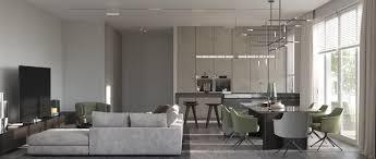 minimalismus moderne innenarchitektur studio wohnzimmer