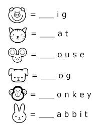 Educational Activities For 3 Year Olds Printable Free Word Beginnings Letter Literacy Worksheet Preschool