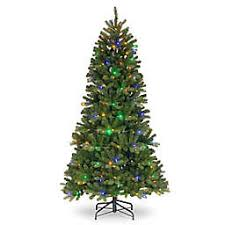 National Tree CompanyR PowerConnect Newberry Slim Christmas With Dual Color Lights