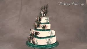 Unique Wedding Cakes Peacock Wedding Cakes