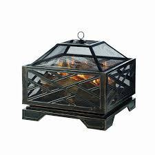 Fleet Farm Patio Furniture Covers by Amazon Com Pleasant Hearth Martin Extra Deep Wood Burning Fire