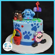 Blue s Clues Birthday Cake