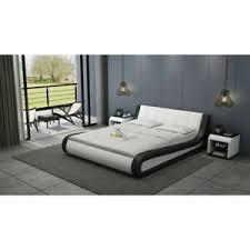 bett lederbett polsterbett moderne doppel schlafzimmer