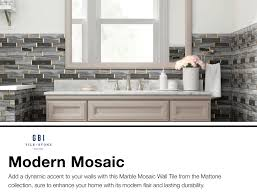 100 Marble Walls Mattone Palissandro Blue Honed 12in X 12in Linear Mosaic Wall Tile Common 12in X 12in Actual 1181in X 1189in