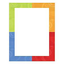 Gartner StudiosR Design Paper 8 1 2 X 11 Colorful