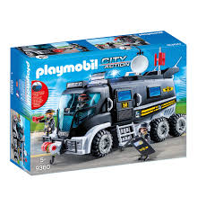 100 Swat Team Truck Playmobil 9360 SWAT With Light And Sound 2018 EBay