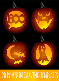 Good Pumpkin Carving Ideas Easy by 20 Pumpkin Templates I Like These Not Super Complicated