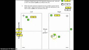 Cpm Technology Algebra Tiles by Comparing Expression Mats Youtube