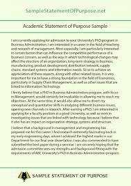 Grad School Letter Intent Sample