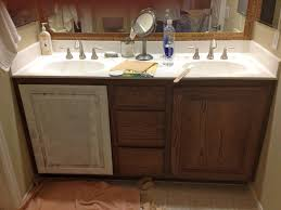 Stunning Painting Bathroom Cabinets in Interior Decorating Concept