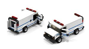 100 Lego Police Truck Custom Lego City Chevrolet Police Van Legos 2 Pinterest