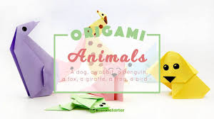 7 Cute And Easy Animal Origami For Kids