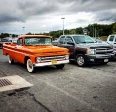 Two Generations Of Chevy. Ones Way More Impressive! (Hint - It's The ... Chevy Surprise Its 2019 Silverado Pickup Will Get A 4cylinder Chevrolet Pressroom United States Images An American Truck In Japan Speedhunters Looks Back At 10 Of Its Most Onic Pickup Truck Designs Five Ways Builds Strength Into 2006 Dale Enhardt Jr Big Red History The Crate Motor Guide For 1973 To 2013 Gmcchevy Trucks 100 Year Evolution Torque Medium Duty Work Info Great Moments In Torque Barbados
