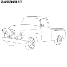 How To Draw A Chevy Truck | DrawingForAll.net Step 11 How To Draw A Truck Tattoo A Pickup By Trucks Rhdragoartcom Drawing Easy Cartoon At Getdrawingscom Free For Personal Use For Kids Really Tutorial In 2018 Police Monster Coloring Pages With Sport Draw Truck Youtube Speed Drawing Of Trucks Fire And Clip Art On Clipart 1 Man