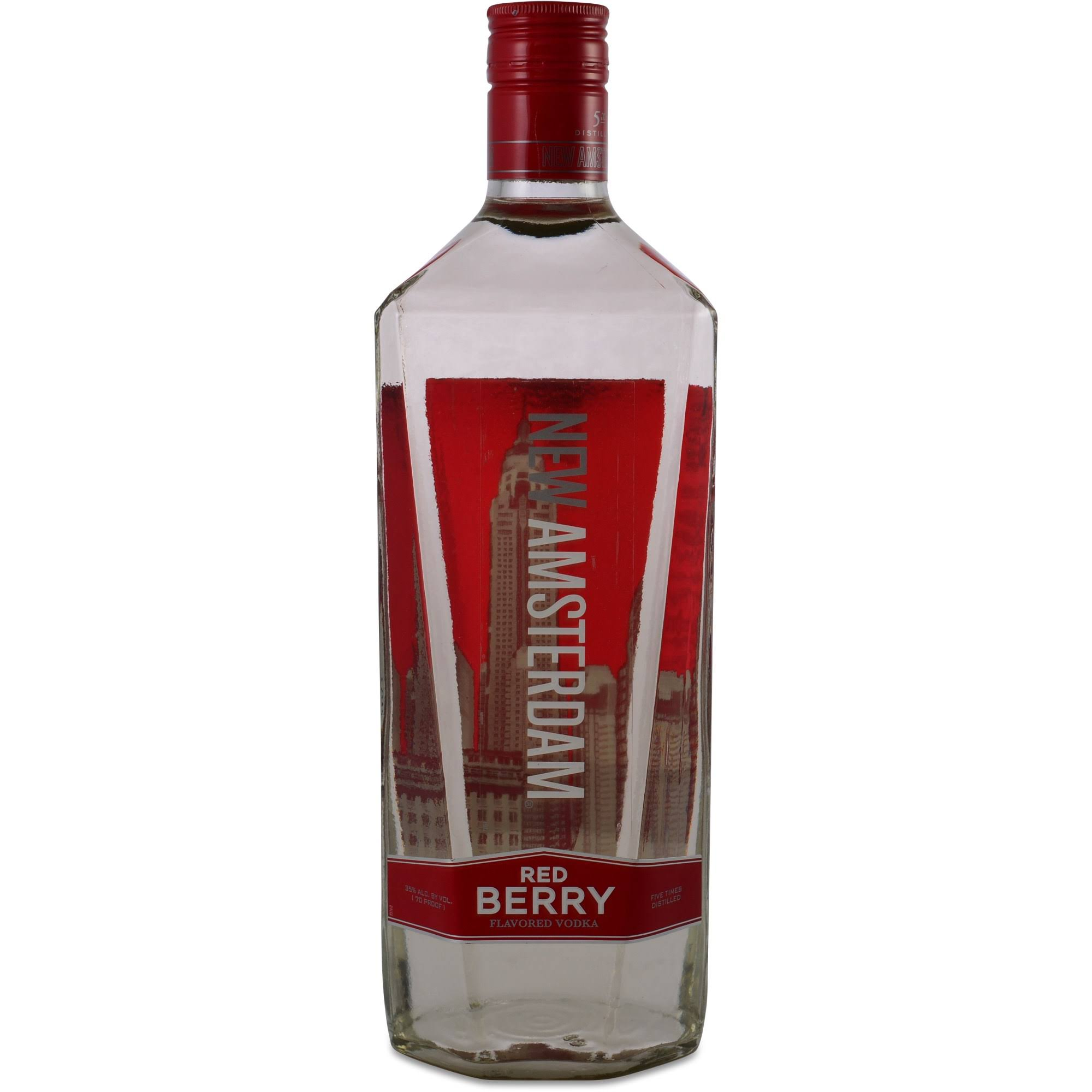 New Amsterdam Vodka, Red Berry - 1.75 L bottle
